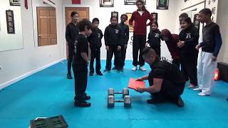 Kung Fu Kids - Strongest Stomp Board Breaking Challenge