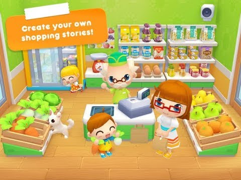 Daily Shopping Stories - Best iPad app demo for kids - Ellie