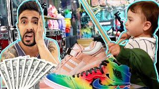 Comprando sneakers PARA TODA LA FAMILIA 🥴