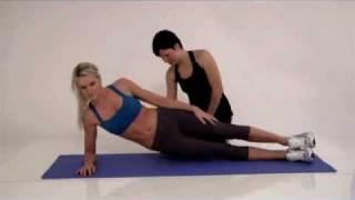 Side Plank Lift Workout