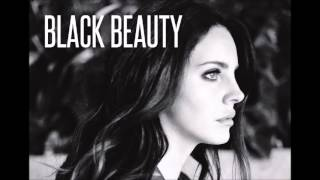 LANA DEL REY - BLACK BEAUTY (Audio HQ)