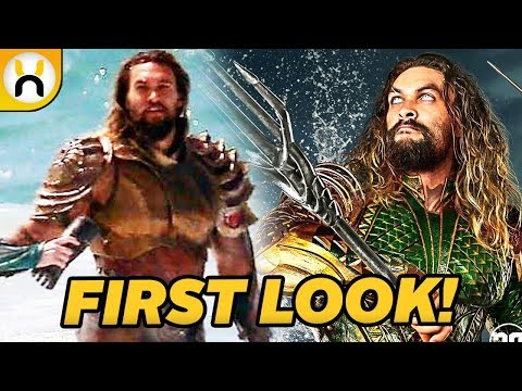 Aquaman Wraps Filming & NEW Suit FIRST LOOK