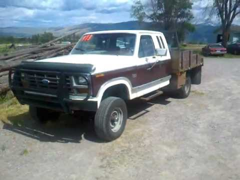 1982 ford f250 4×4 auto 351 v8 flatbed for sale $1973