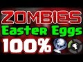 ALL ZOMBIE EASTER EGGS COMPLETE 100% ATTEMPT - Call Of Duty Black Ops 3 Revelations - Part 1