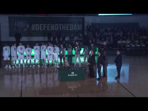 2017 Babson Men's Basketball National Championship Ring Ceremony