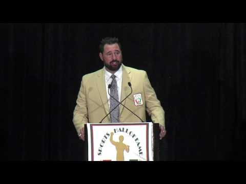 Joaquin Gonzalez acceptance speech - UM Sports Hall of Fame