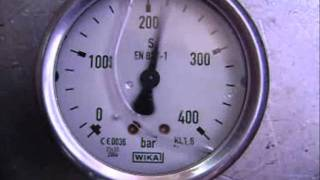 Hydraulic Pump Control Self Oscillation - Fighting it with Control Fluid Leakage thumbnail