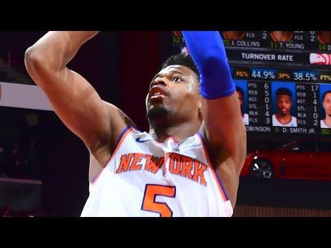 New York Knicks vs Atlanta Hawks - Full Highlights | February 14, 2019 | 2018-19 NBA Season