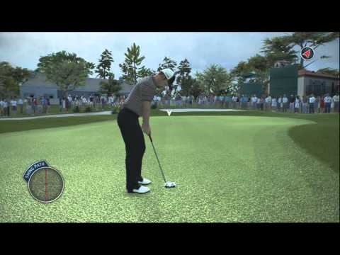 Tiger Woods 14 Simulation Career Gameplay Walkthrough Part 28 - Round 2 of 2 at Pebble Beach