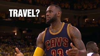 NBA Uncalled Travels Compilation ft. King of Travels Lebron James
