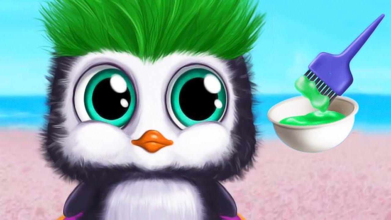 Bebé Peluquería De Animales 3 Maquillaje Vestir Belleza Mascota Cortes De Pelo Juegos Para Chicas