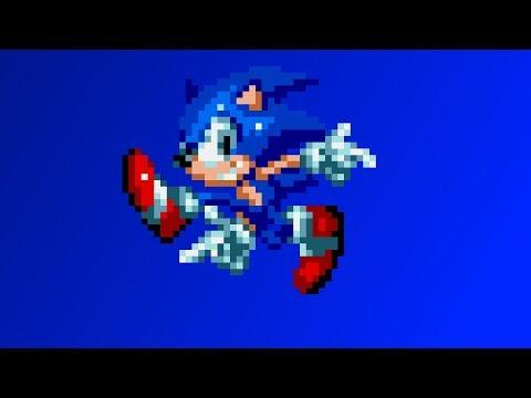Cooler Senic (Progress)   Sonic Mania Mod