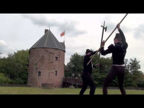 15th Century fighting demonstration