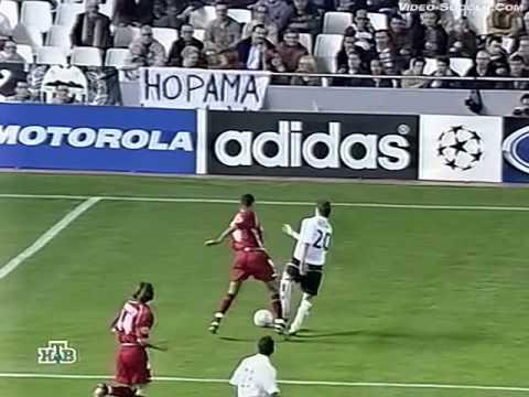 Валенсия (Валенсия, Испания) - СПАРТАК 3:0, Лига Чемпионов - 2002-2003