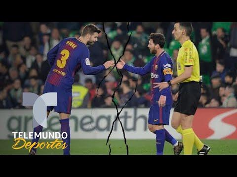 ¡Divorcio total entre Lionel Messi y Gerard Piqué! | La Liga | Telemundo Deportes