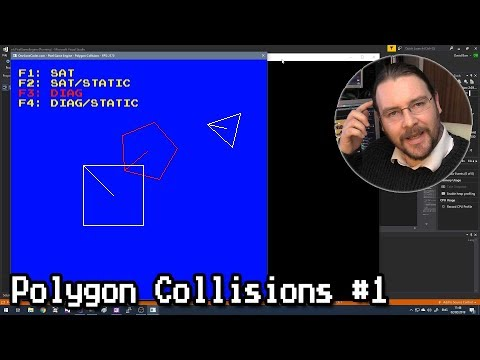 Convex Polygon Collisions #1 thumbnail
