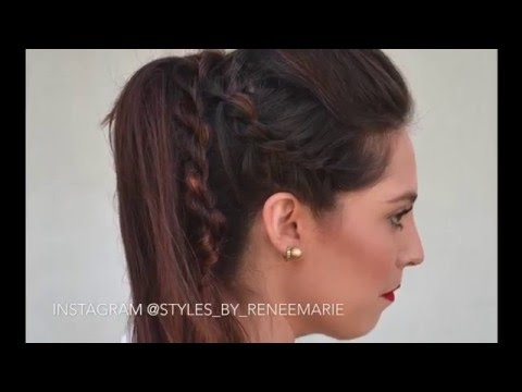 Double-Strand Twist- Rockstar Ponytail