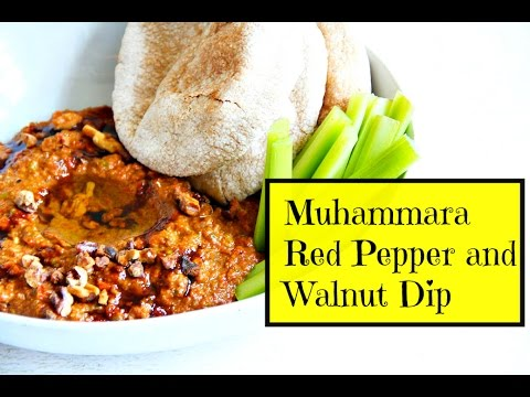 Muhammara | Red Pepper and Walnut Dip