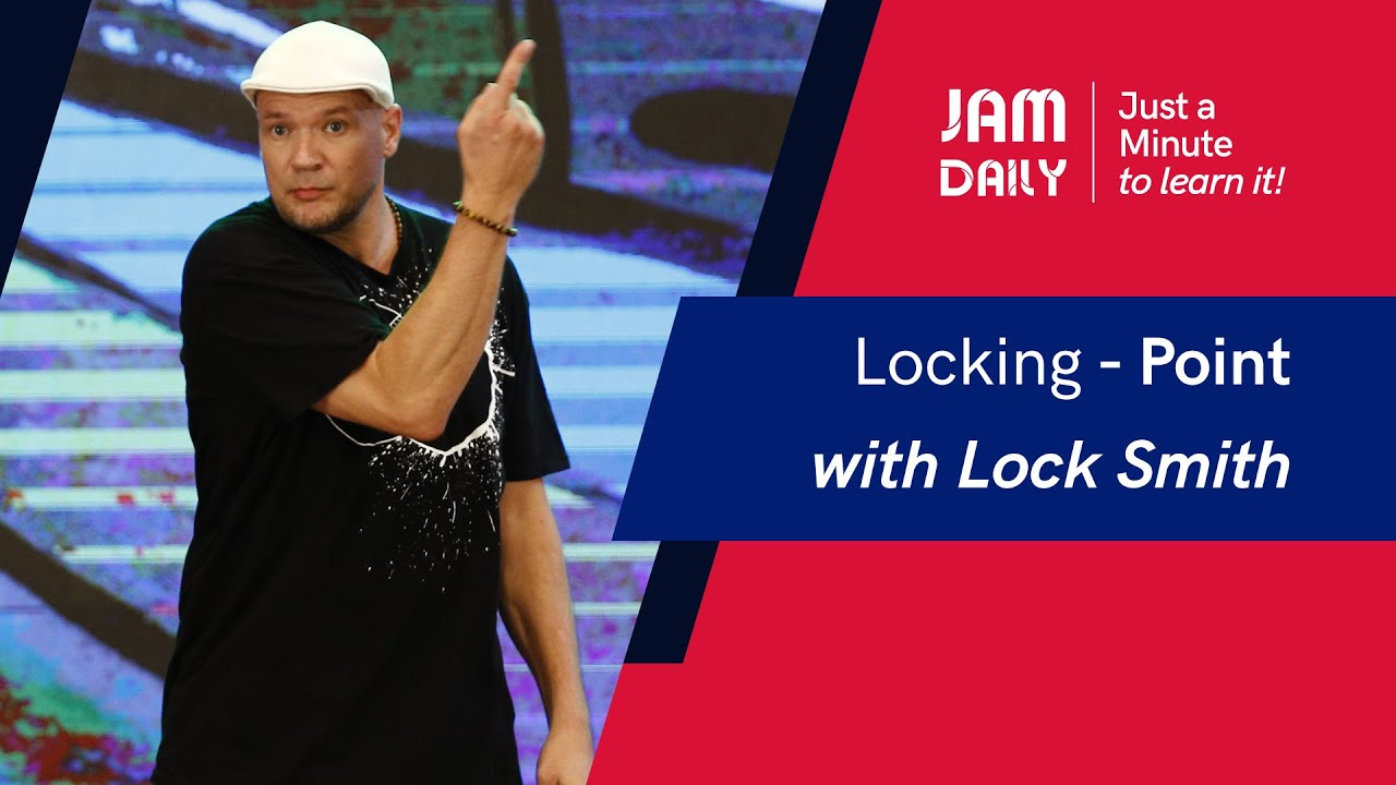 JAM Daily #50 | Just A Minute To Learn 'Locking- Point' | Dance With Madhuri