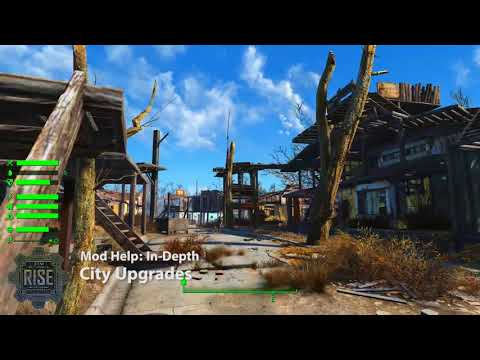 Fallout 4 mod lets you assign NPCs to plan and manage your