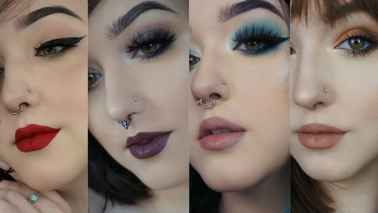 How To Change 4 Types Of Septum Jewelry Clickers Horseshoes