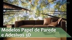 Modelos de Papel de Parede 3D - Adesivos 3D