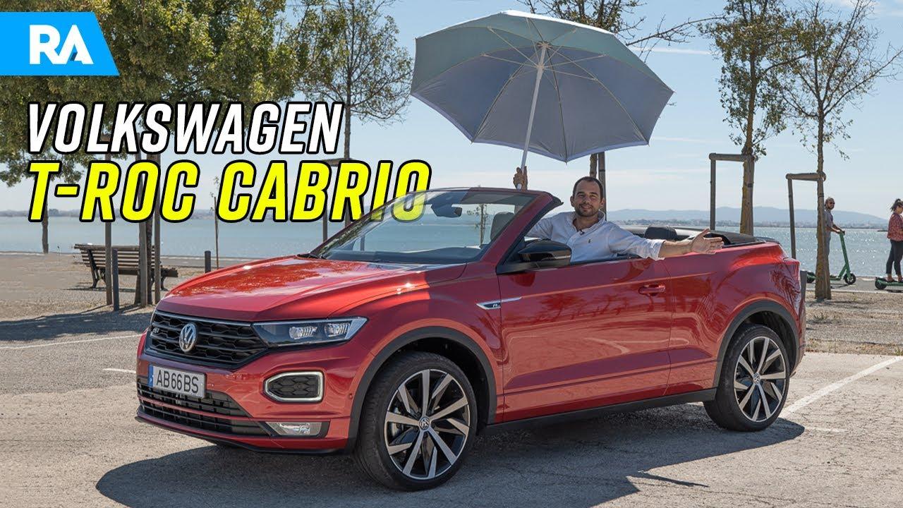 Volkswagen T-Roc Cabrio (150cv). Um SUV descapotável faz sentido?