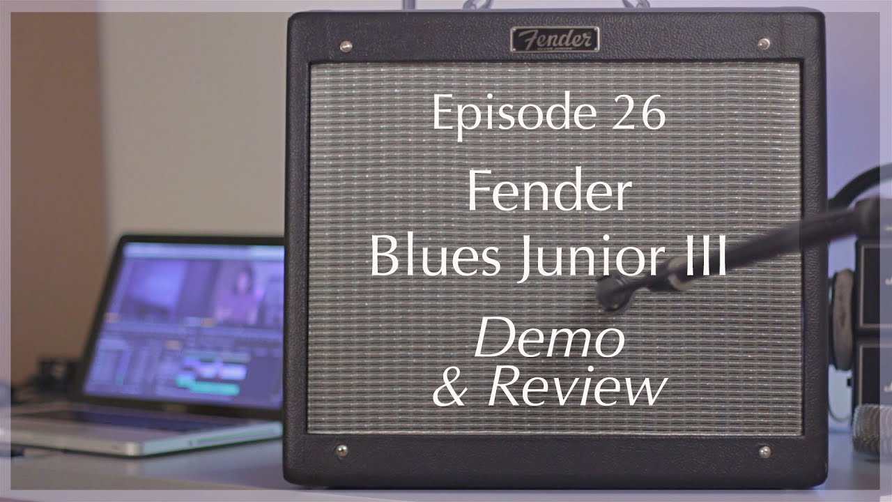 fender blues junior iii demo review axe tuts s01e26 youtube. Black Bedroom Furniture Sets. Home Design Ideas