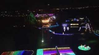 東武動物公園 クリスマス 夜景 2014 ウィンター イルミネーション ◇夜景...
