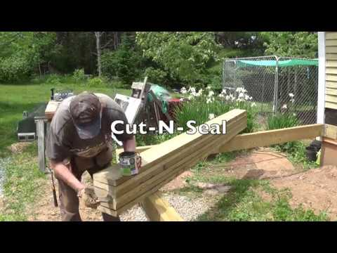 Diy Deck Part 3 Building Beam Installing Joists
