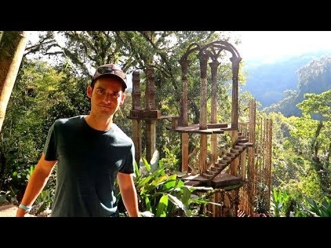 INSANE MAZE IN THE JUNGLE!😯 -Edward James Castle in Xilitla SLP (Mexico Travel Vlog)