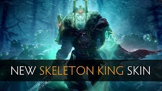 Dota 2 New Skeleton King (Wraith King) Skin (side by side comparison)