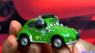 Cars 2 Cruz Besouro Pit Crew Chief Carla Veloso Disney Diecast Kmart K-day Review by Blucollection