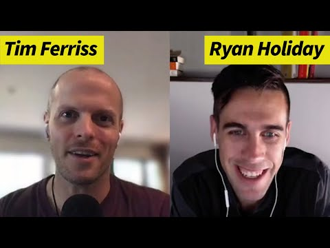 Ryan Holiday — How To Use Stoicism To Choose Alive Time Over Dead Time | The Tim Ferriss Show