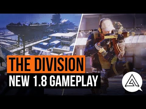 The Division | New Exotic Weapons, PvE Activities & Division Tech in Update 1.8