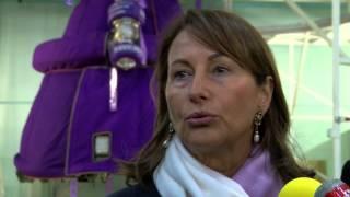 Politique : la Ministre de l'Écologie en déplacement sur le site d'Airbus