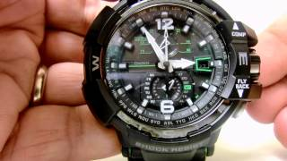 GW-A1100 - Adjusting Settings Including Daylight Saving Time -Spanish