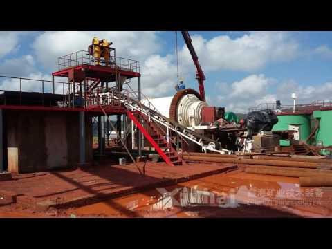 Gold Ore Processing Plant in Zimbabwe,Xinhai