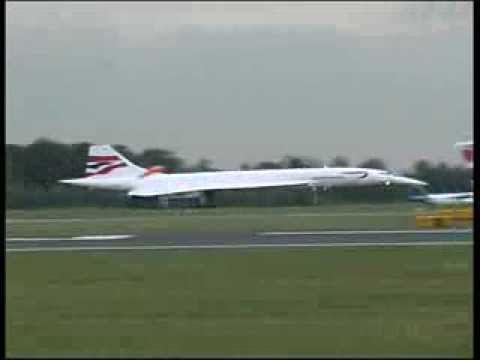 concorde last landing and take off at manchester airpor doovi. Black Bedroom Furniture Sets. Home Design Ideas
