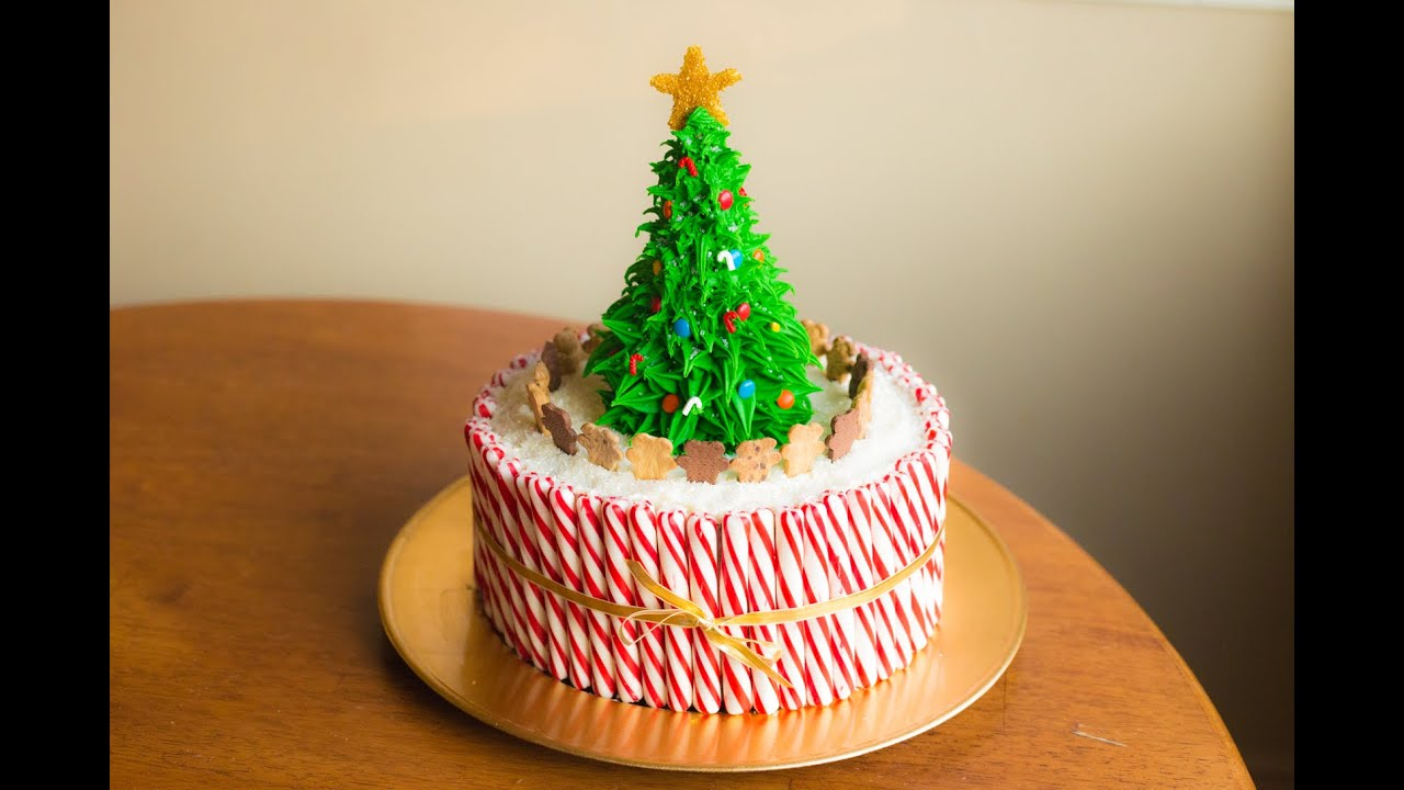 How To Make A Christmas Cake! - YouTube