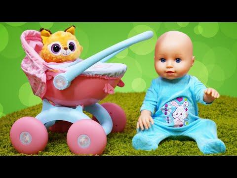 Видео с куклами - Завтрак для Беби Бон и Цыплят! – Смешные видео для детей с игрушками