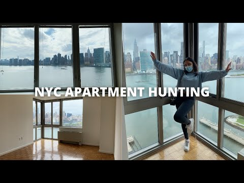 NYC APARTMENT HUNTING!