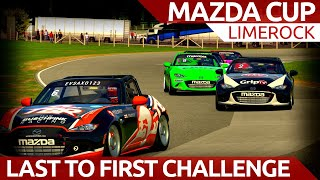 Last to first challenge....mazda