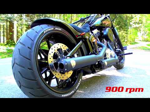 Harley Davidson Breakout Live Idle 1100rpm 1000rpm 900rpm