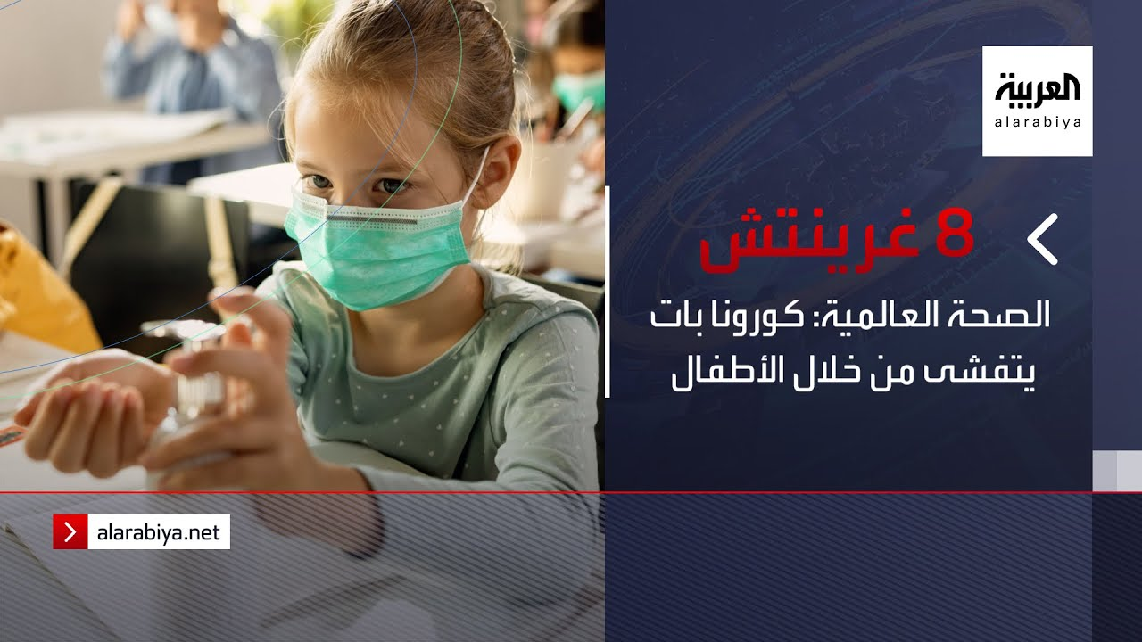 نشرة 8 غرينيتش | الصحة العالمية: كورونا بات يتفشى من خلال الأطفال  - 14:54-2021 / 9 / 22
