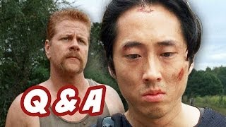 The Walking Dead Season 4 Q&A - The Hunters VS Sanctuary Edition