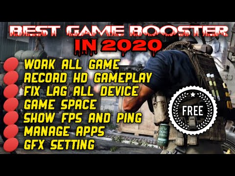 BEST GAME BOOSTER 2020 ALL GAME SUPER FAST,FIX LAG.GAME BOOSTER ANDROID