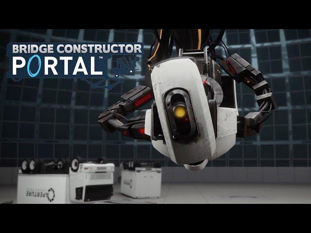 Bridge Constructor Portal (видео)