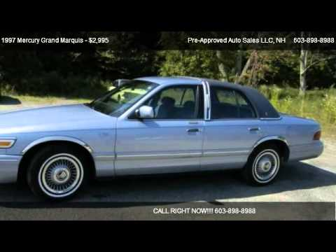 1997 mercury grand marquis gs park lane edition for sale in windham nh 03087 youtube. Black Bedroom Furniture Sets. Home Design Ideas