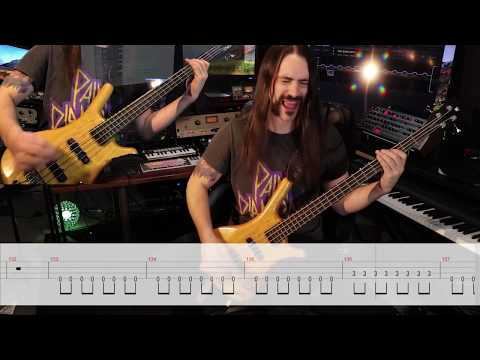 KOBRA AND THE LOTUS - Losing My Humanity (Bass Playthrough) | Napalm Records